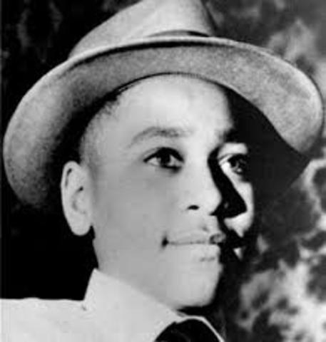 Emmett Till is brutally murdered in Money, Mississippi