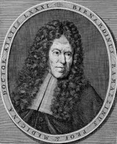 Bernardino Ramazzini (1633 - 1714)