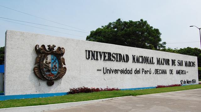 La real y pontifica universidad de San Marcos