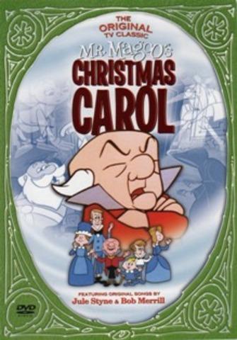 Mr Magoo Christmas Carol