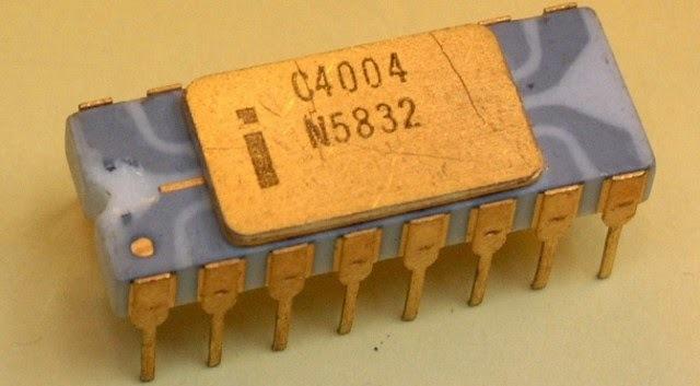 primer microprocesador Intel 4004