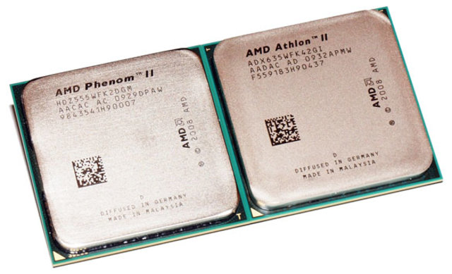 AMD Phenom II y Athlon II
