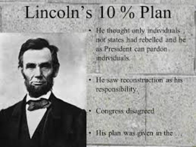 Lincolns 10% plan