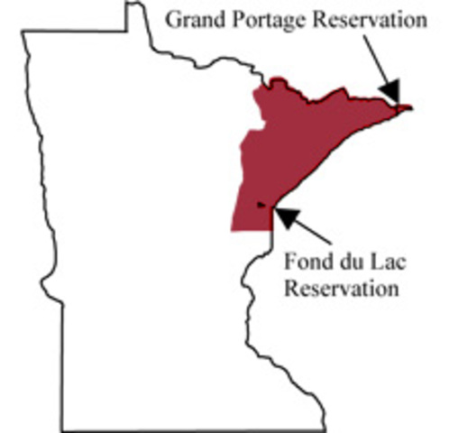 1854 Ojibwe Land Cession Treaty