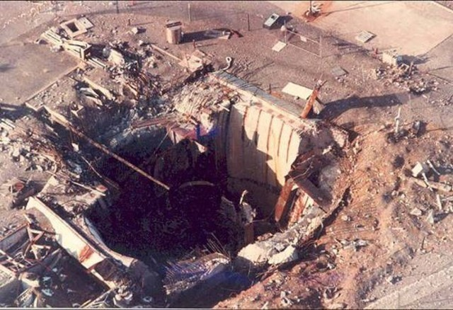 titan 2 missile explosion