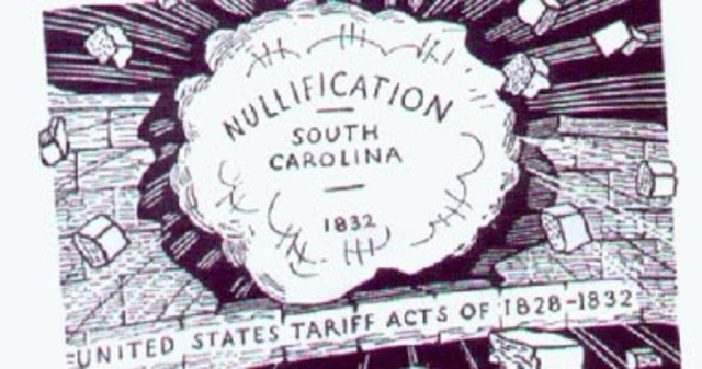 Nullification Crisis Began