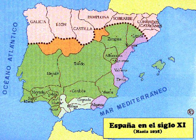 Reconquista cristiana de España y Portugal