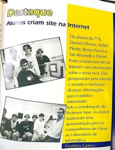 """A área de computação passa a chamar-se """"Informática Educacional"""""""
