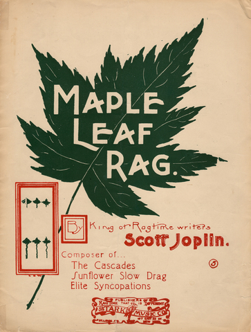 Scott Joplin lanza Maple Leaf Rag