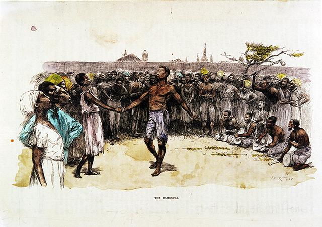 Se llevan a cabo Ring Shouts y danzas en Congo Square