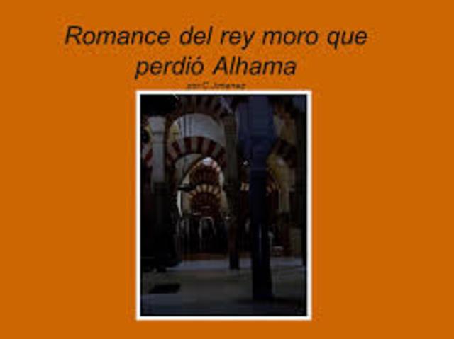El Romance del rey moro