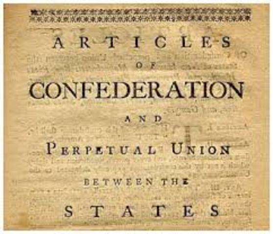 Articles of Confederation: Powers given to National Government