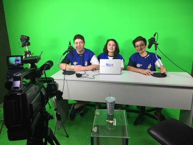 Curso de mídias para os alunos do 7º ao EM