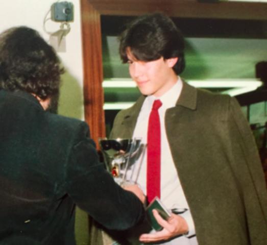 Graduació de Juan Miguel Saiz Jorrín