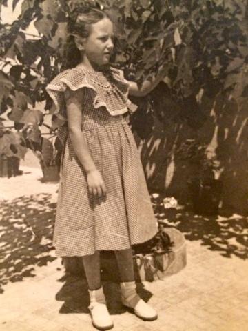 Maria Martí Dalmau va a l'escola de Santa Eulàlia de Ronçana