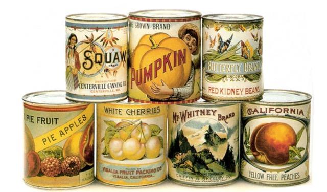 Peter Duran patents the tin can