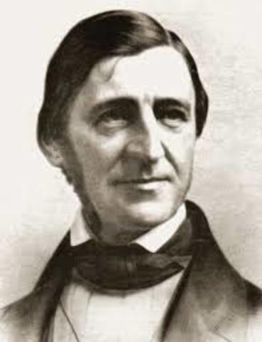 "Ralph Waldo Emerson gave the ""Divinity School Address"""