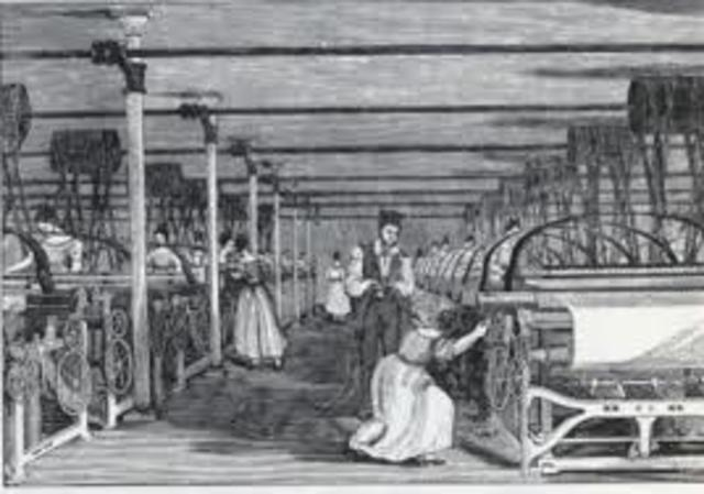 Francis Cabot Lowell smuggled memorized textile mill plans from Manchester, England
