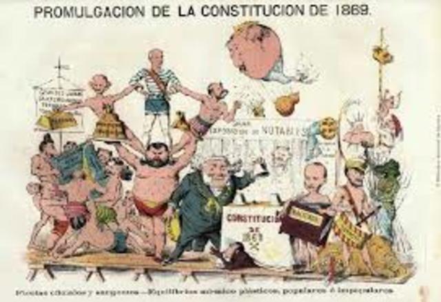 Constitución Democrática de 1869