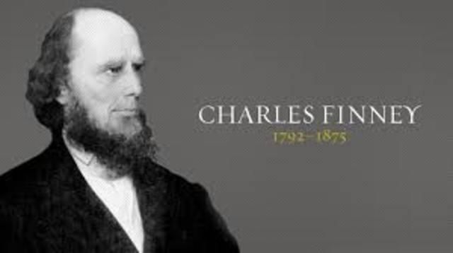 Charles B Finney lead religious revivals in western new york