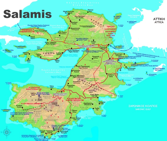 Victory at the island of salamis
