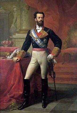 El Reinado de Amadeo I de Saboya.