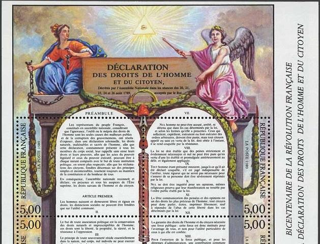 Declaracion Francesa de los Derechos del Hombre