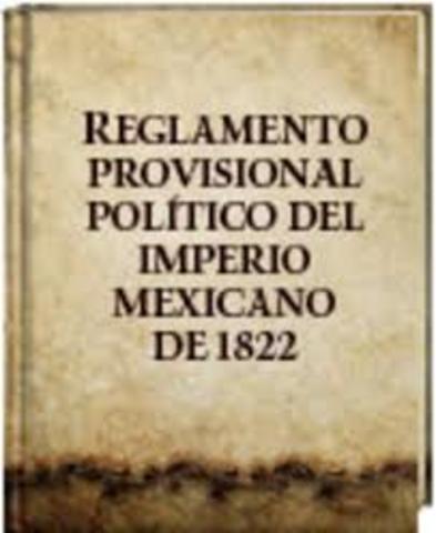 Reglamento Provisional Político del Imperio