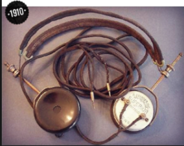 the first headphones