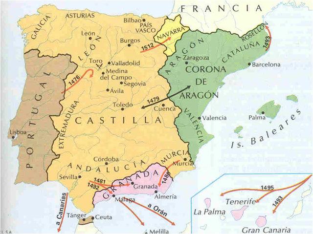 Anexión de Castilla al reino de Granada