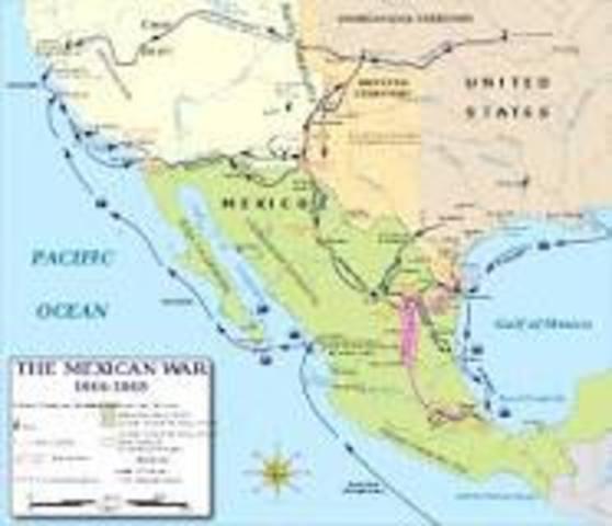 Start of Mexican War
