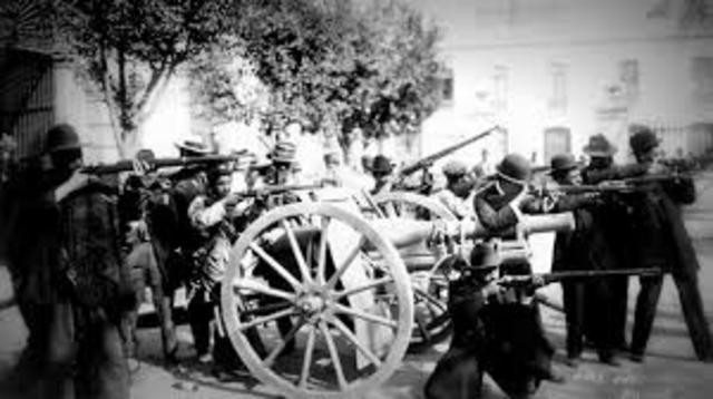 End of the Mexico Revolution