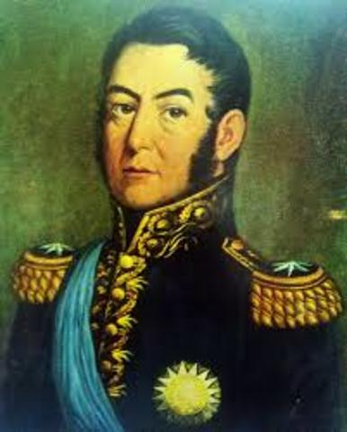 Start of the South American Revolution