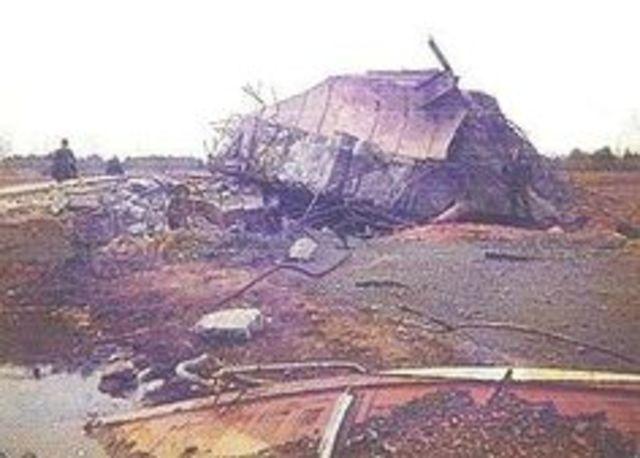 1980 Damascus Titan missile explosion