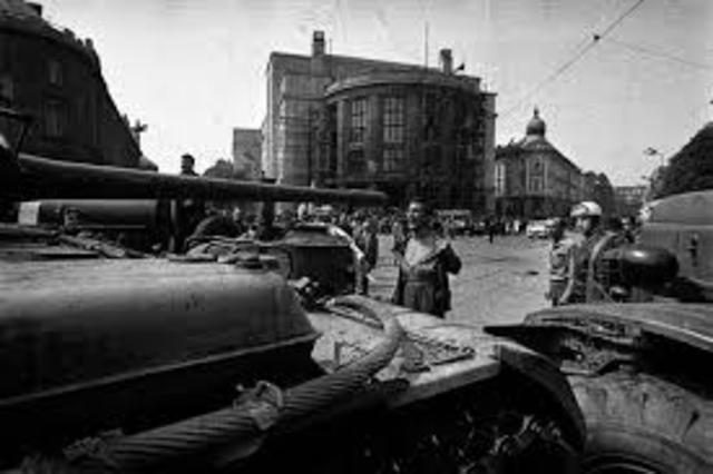 Invasion of Czechoslovakia