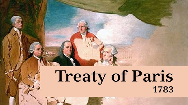 Treaty of Paris 1783