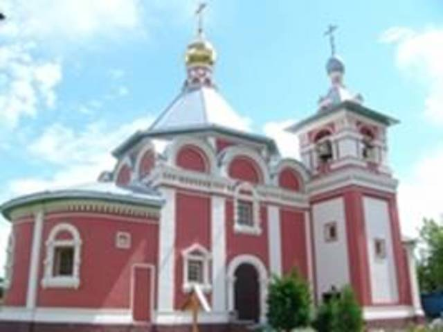Возведена церковь Вознесения Христова