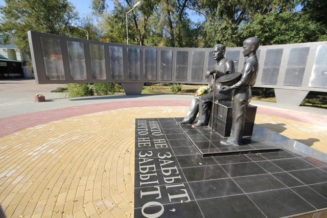 Памятник героям ВОВ «Никто не забыт, ничто не забыто»