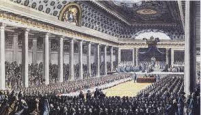 The forming of the National Assembly