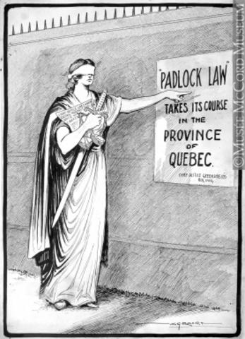 Padlock Act