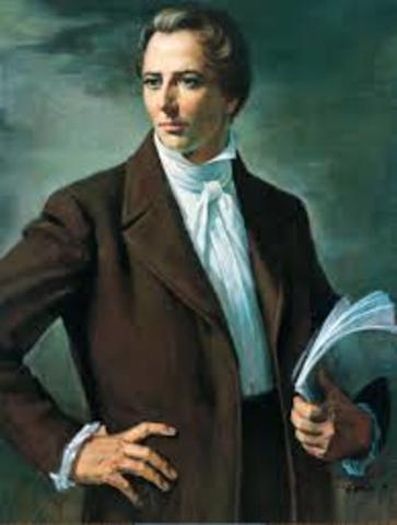Joseph Smith Founded the Church of Jesus Christ of the Latter-Day Saints.