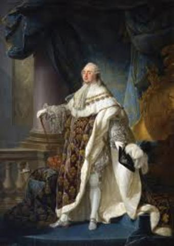 Louis XVI Crowned king of France