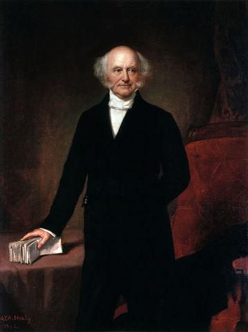 Martin Van Buren elected president.