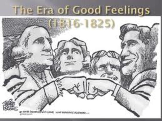 Era of Good Feeling Began