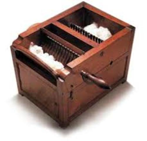 Eli Whitney Patented the Cotton Gin