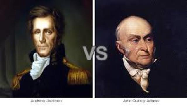 John Quincy Adams Elected Presidency (Corrupt Bargain)