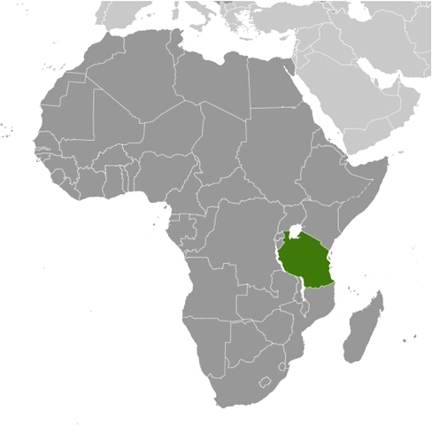 After WWII Tanganyika was finally a UN trust territory under British control.