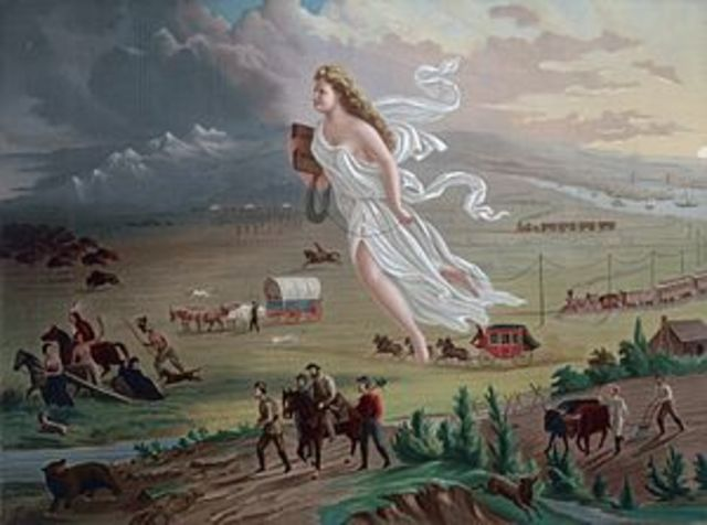 Beginning of Manifest Destiny