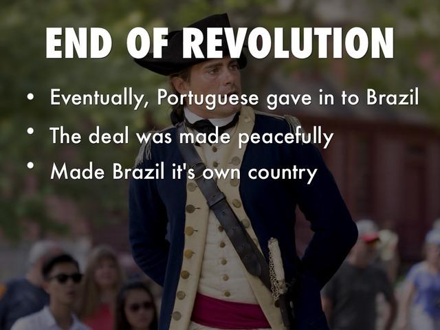 Ending of the Brazilian Revolution