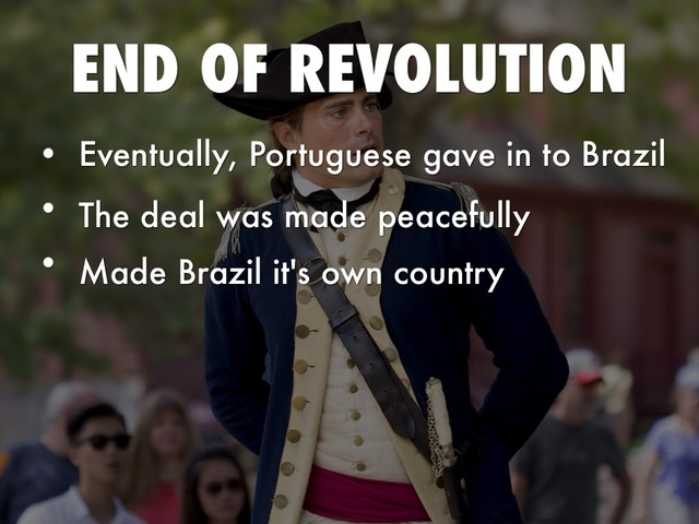 Ending of the Brazilian Revolution